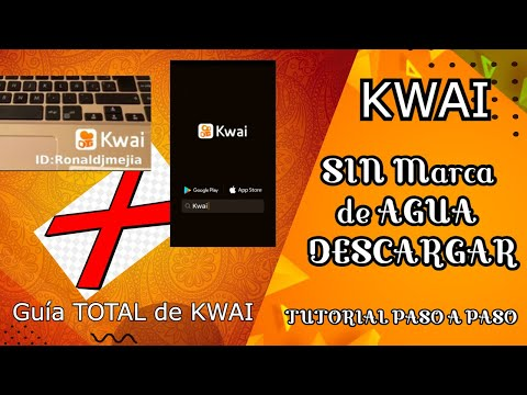 ✅Videos KWAI SIN MARCA de AGUA 💥 Cómo DESCARGAR videos sin MARCA DE AGUA en KWAI(Solución) #27