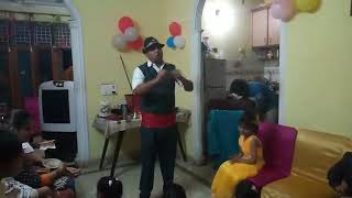 Birthday party aur magic  show