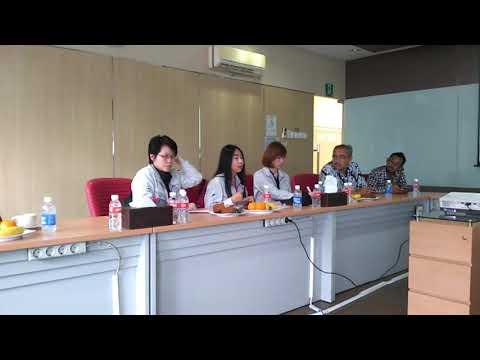 Kunjungan environment team from thailand