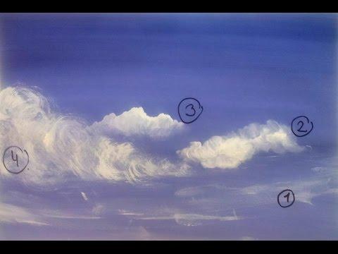 Как рисовать небо