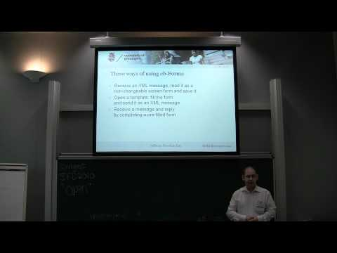2. eb-Forms, webforms for standard electronic business documents - Fred van Blommestein