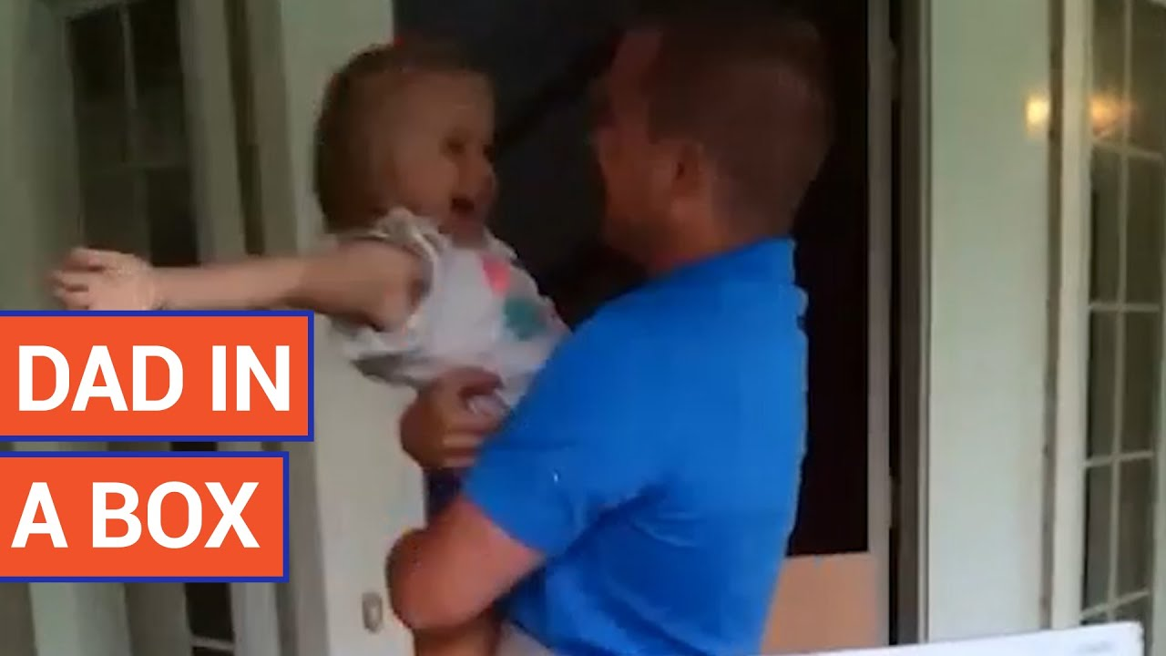 Military Dad Surprises Daughter In Birthday Present
