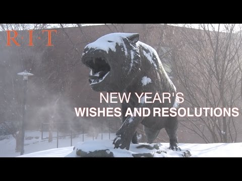 2017 New Year's Wishes from RIT