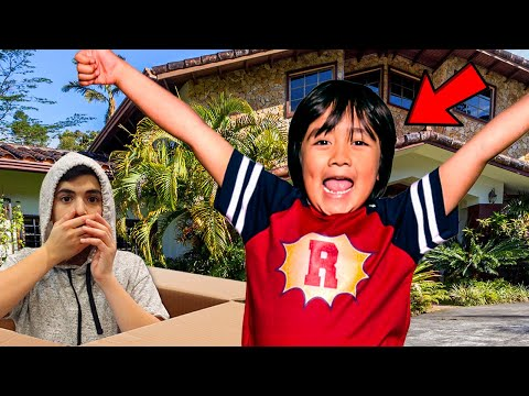 I MAILED MYSELF TO RYAN'S WORLD HOUSE!! *OMG IT WORKED!*