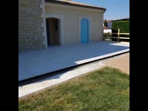 Pose Dalle Sur Plots Terrasse Pose Carreaux De 60 X 120