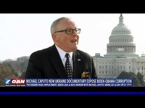 'The Ukraine Hoax: Impeachment, Biden Cash, Mass Murder' debuting this weekend on OAN