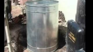 usina doméstica de biogás - parte 1
