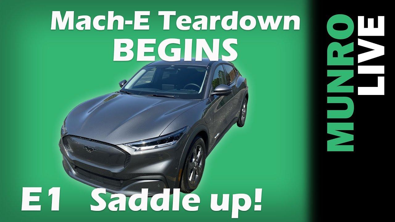 MACH-E Teardown BEGINS!