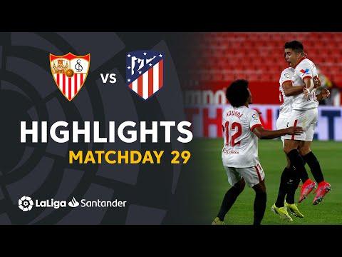 Sevilla Atletico Madrid Goals And Highlights