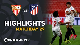Highlights Sevilla FC vs Atlético de Madrid (1-0)
