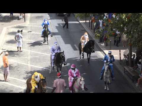 Curaçao Carnival Horse Parade 2014 -Breedestraat, Otrobanda
