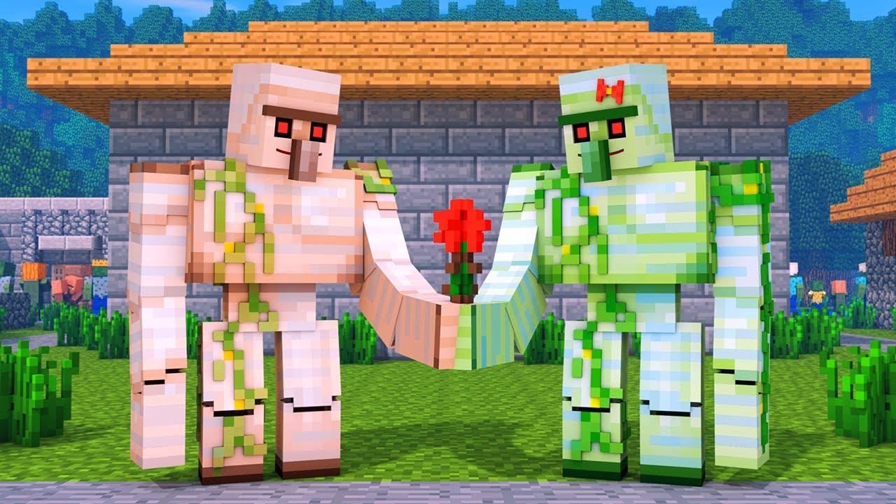 Zombie vs Villager Life: FULL ANIMATION - Alien Being Minecraft Animation