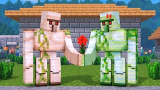 Zombie Vs Villager Life FULL AN MAT ON   Alien Being Minecraft Animation