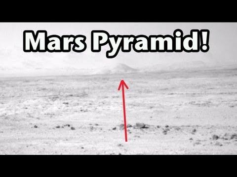 Pyramid on Mars Curiosity Photos