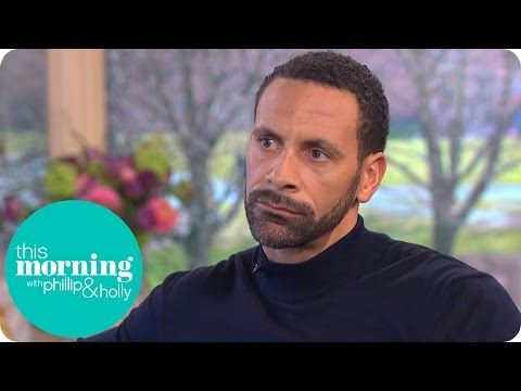 Rio Ferdinand Reveals How Much He's Struggled to Grieve for His Wife   This Morning