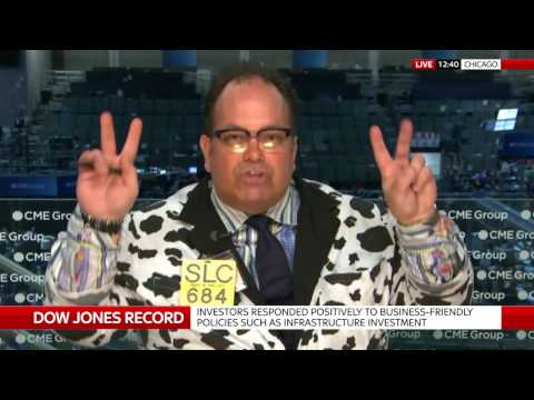 The Cow Guy on the Dow Jones hitting 20,000