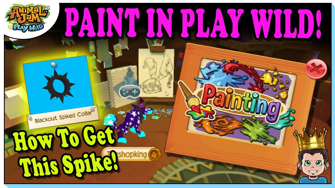 PAINTINGS IN PLAY WILD! NEW MEMBER FEATURES + BLACKOUT SPIKE | Animal Jam