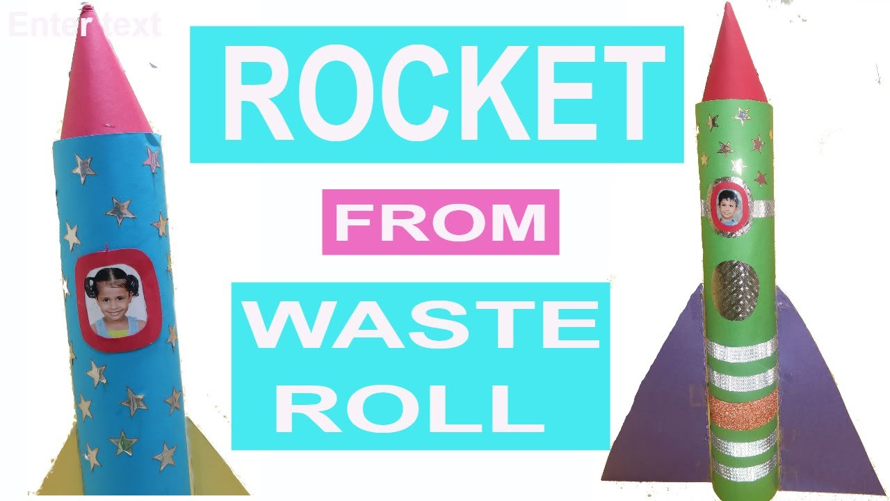 Rocket craft toilet paper roll craft best out of waste rocket craft toilet paper roll craft best out of waste rocket for kids creative mom tanu jeuxipadfo Image collections