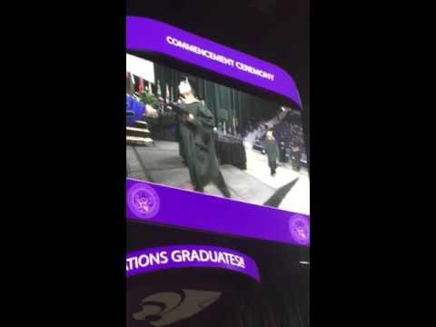 Jesse KSU masters graduation
