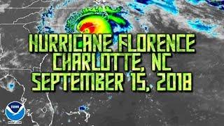 Hurricane Florence | Charlotte, NC 9/15/2018