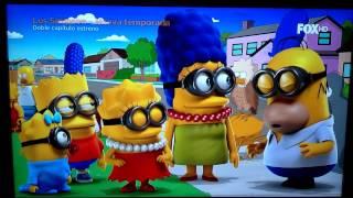"""Fragmento de la temporada 26 de los Simpson """"la casita del horror 25"""""""