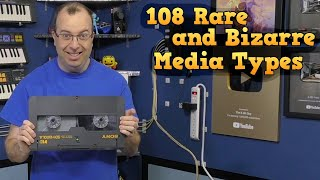 108 Rare and Bizarre Media Types