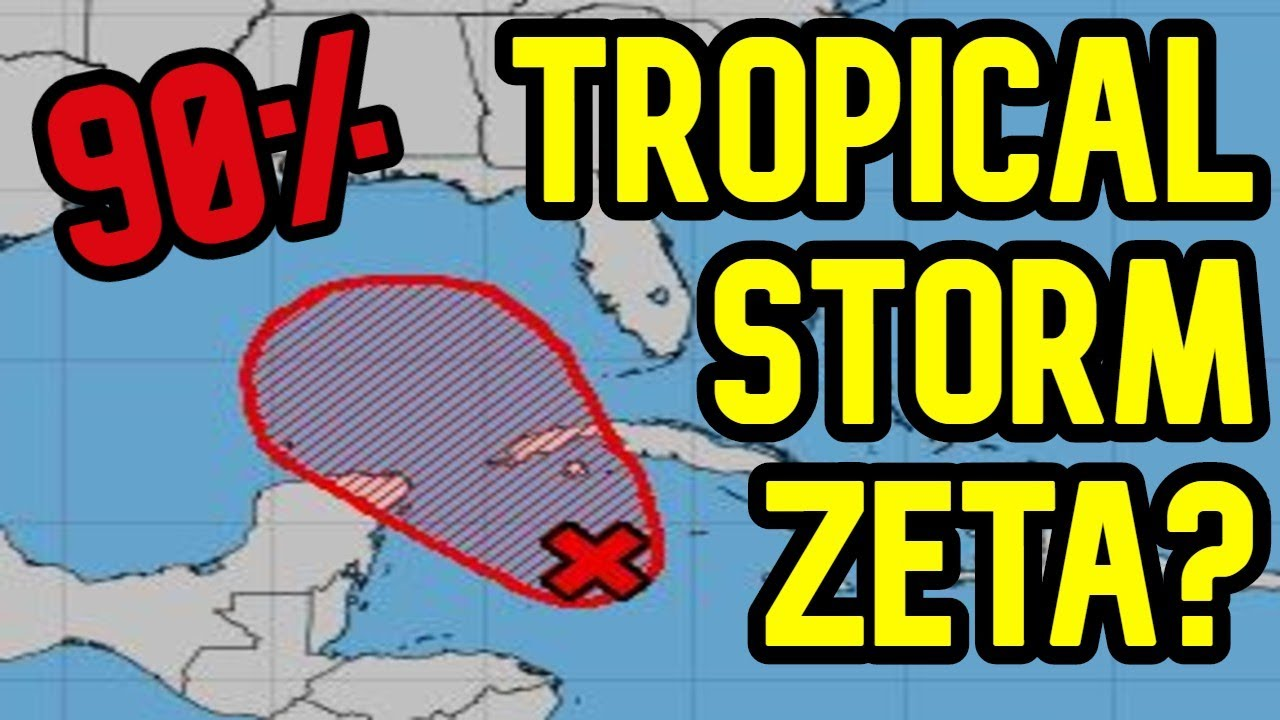 Invest 95L to Most Likely Become Tropical Storm Zeta and Head Into the Gulf Of Mexico - US Impacts?