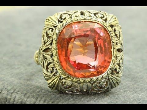 Batu Paparaca | Padparadscha | Sapphire Pinkish Orange