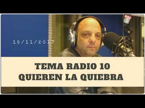Baby Etchecopar - Tema Radio 10 Quieren La Quiebra