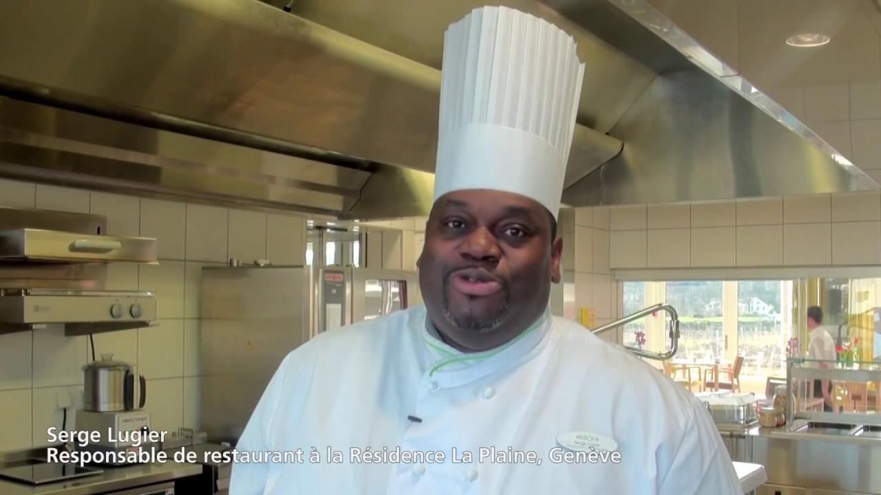 Interview de Serge Lugier, Responsable de Restaurant à la Résidence La Plaine à Genève