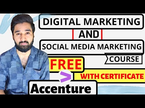 Digital marketing and Social media Course for Free with Certificate