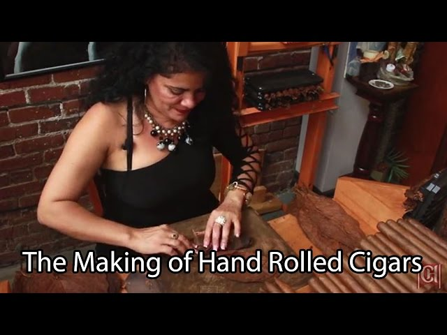 The Making of Hand Rolled Cigars in Ybor City, Tampa