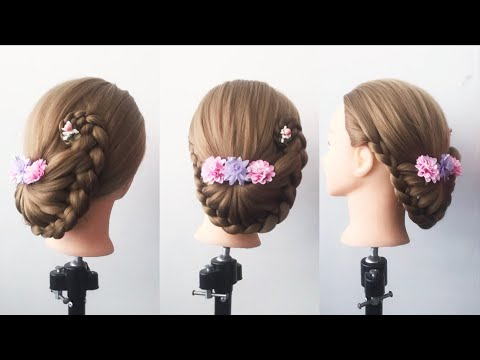 Beautiful Bridal Hairstyles Tutorials in 2019