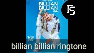 Billian Billlian song ringtone / Guri billian billian ringtone