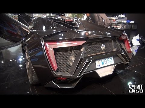 W Motors Lykan Hypersport – $3.4m Overview, Start and Revs