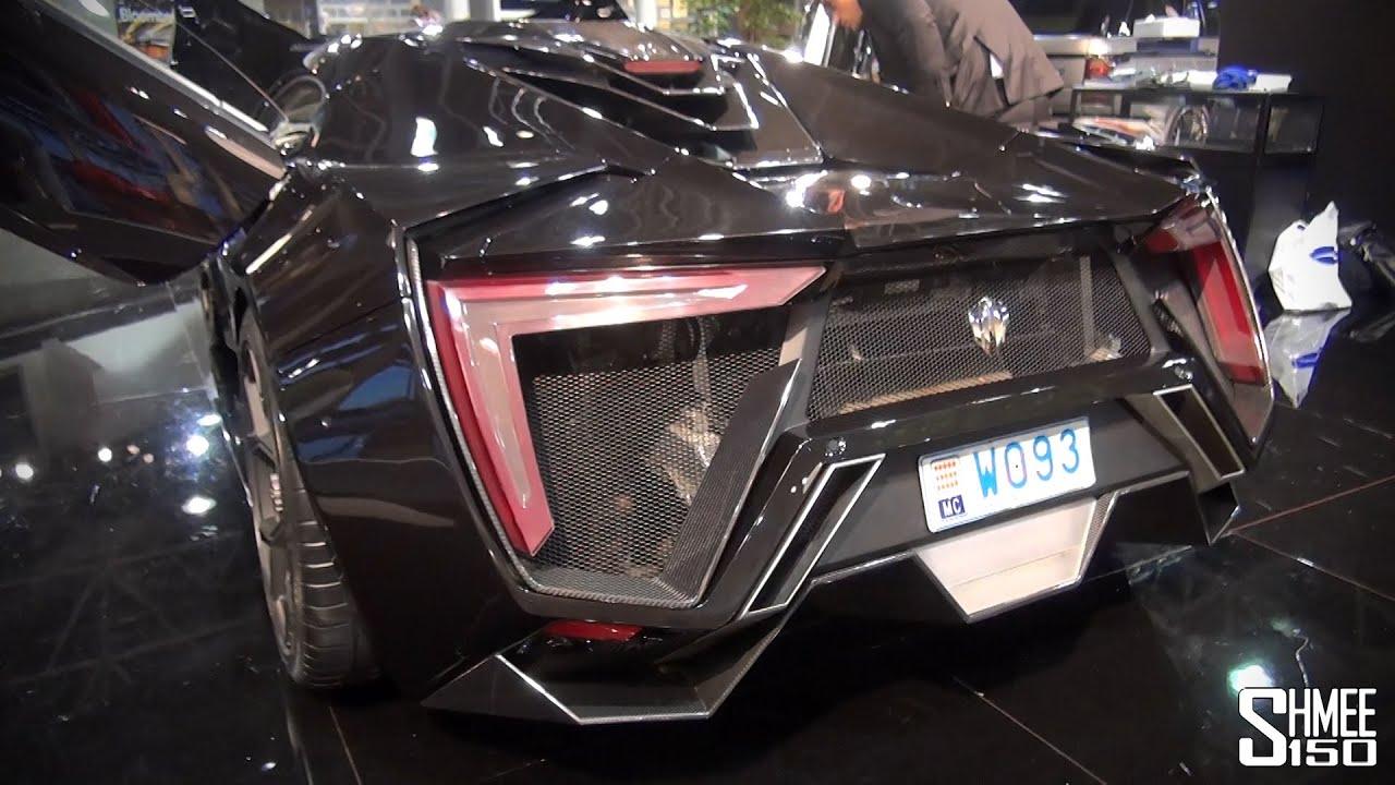 W Motors Lykan Hypersport Overview Start And Revs