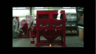 Soda Blasting Cabinet