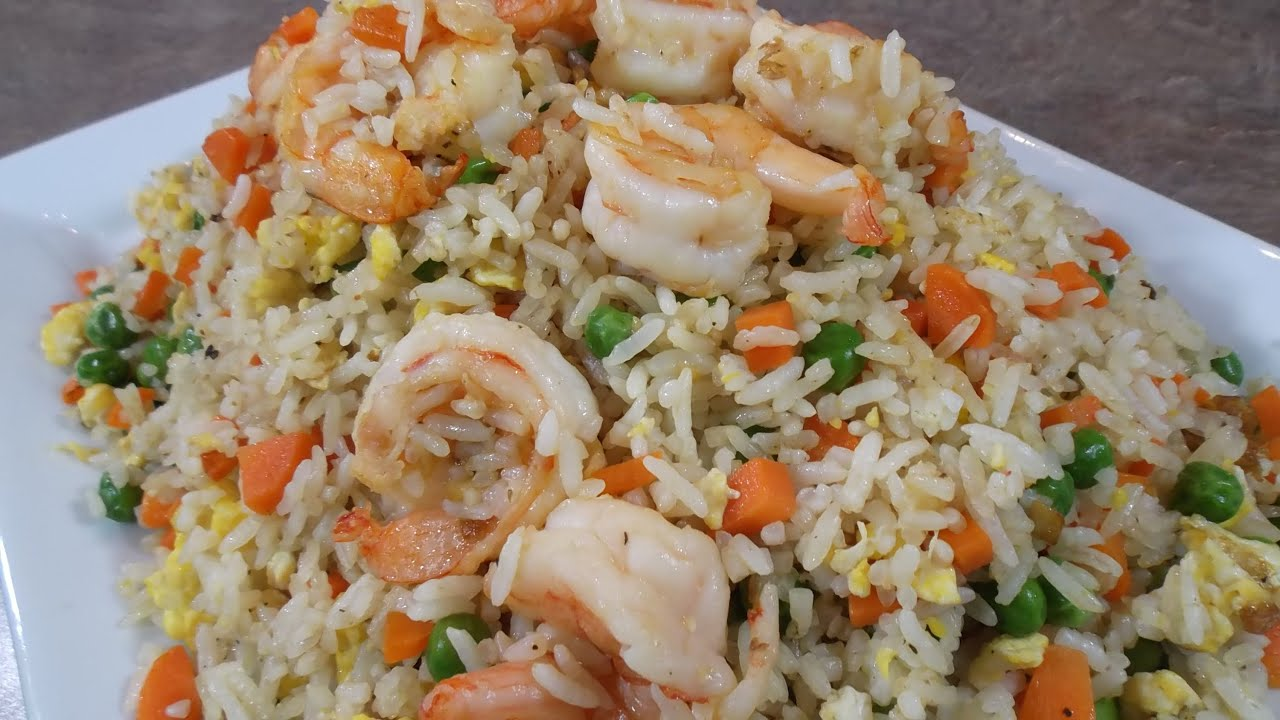 Shrimp fried rice recipe youtube shrimp fried rice recipe forumfinder Choice Image