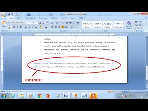 How to use FootNote / Foot Record