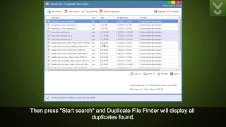 Duplicate File Finder - Find and remove duplicates from your system - Download Video Previews