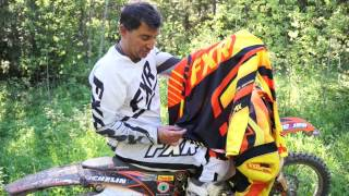 FXR Racing Factory Ride Pant, Jersey, and Gloves