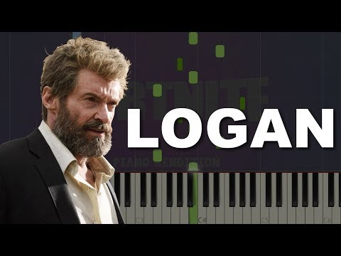 LOGAN SOUNDTRACK: Main titles Piano Tutorial & Sheet Music (Synthesia)