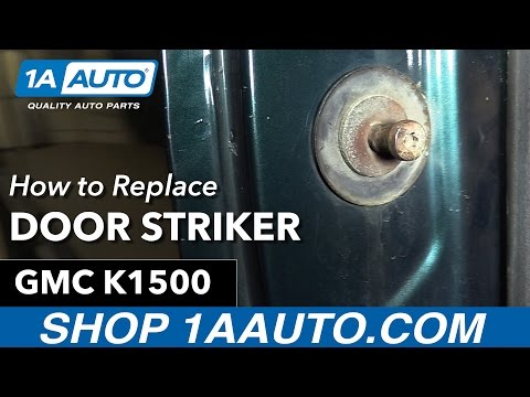 How to Replace Door Striker 92-99 GMC Sierra K1500