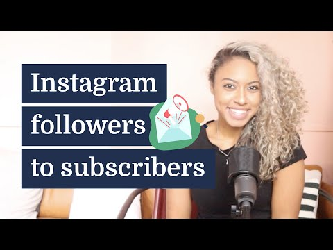 How to turn Instagram followers into email subscribers