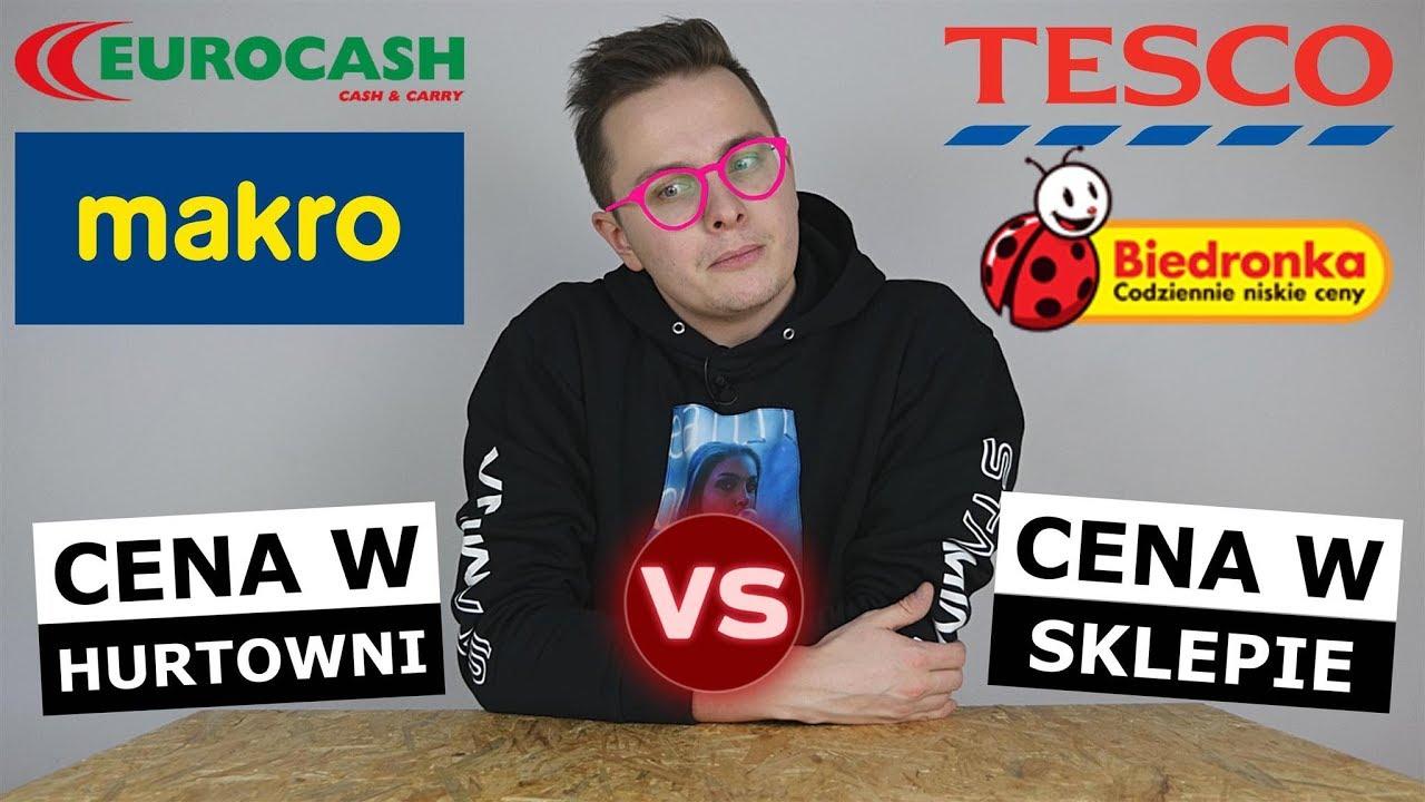 CENY w BIEDRONCE i TESCO vs. CENY W HURTOWNI - GDZIE TANIEJ?!