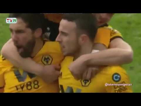HIGHLIGHTS OF WOLVES' 4-3 WIN OVER LEICESTER CITY