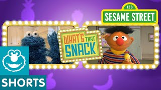 Sesame Street: Ernie Plays What's That Snack #3