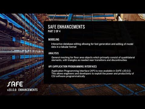 SAFE v20.0.0 Enhancements PART 2 of 4
