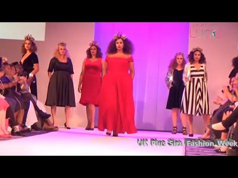 aacdcdbe8 Fashion Week Plus Size - Fashion Show - YouTube