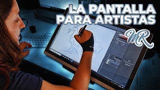 PANTALLA PARA ARTISTAS ◊ HUION GT-220 V2 ◊ Marcos Reviews